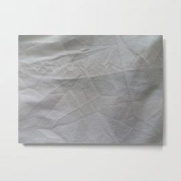 White Sheets Metal Print