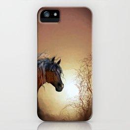 HORSE - Misty iPhone Case