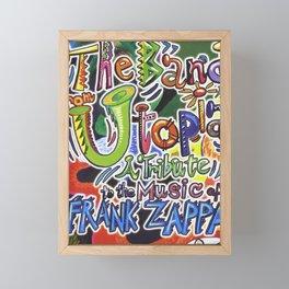 FRANK ZAPPA MIREL 9 Framed Mini Art Print
