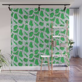 Army Inspired Icons Set 4 Wall Mural