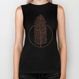 Branches and Buds in Warmth Biker Tank