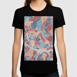 Florence map, Italy T-shirt