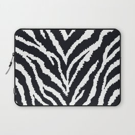Zebra fur texture Laptop Sleeve