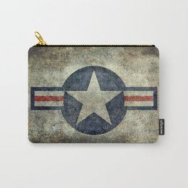 USAF vintage retro roundel #2 Carry-All Pouch