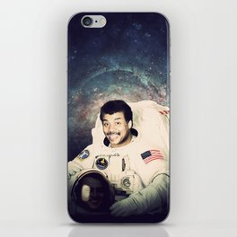 Neil deGrasse Tyson - Astronaut in Space iPhone Skin