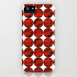 Roses (red) iPhone Case