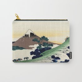"""Hokusai (1760-1849)  """"Inume Pass"""" Carry-All Pouch"""