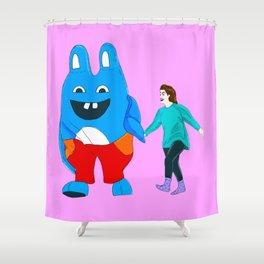 I Love You, Bingo Bronson! Shower Curtain