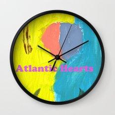 Atlantic Hearts Wall Clock