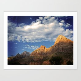 What Happens In Zion Stays In Zion Art Print