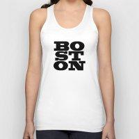 boston Tank Tops featuring Boston by Jeremy Jon Myers