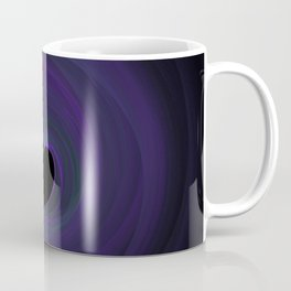 Fractal 47 Blue Coffee Mug