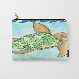 Timmy the Turtle Carry-All Pouch