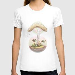 Flying dolphin  T-shirt