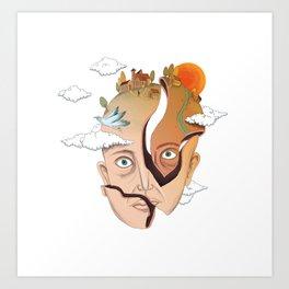 Kafaköy Art Print