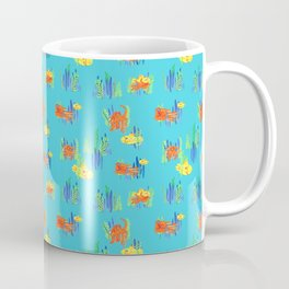 Octopus and Submarine fun Coffee Mug