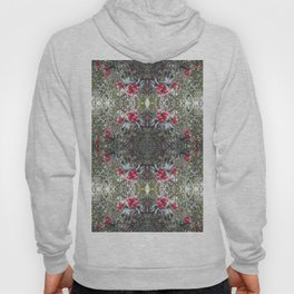 Very Berry Holly Christmas Multi Fractal from Photo 805 Hoody