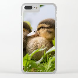 Siblings Clear iPhone Case