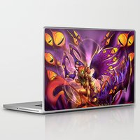 warcraft Laptop & iPad Skins featuring Corruption  by LycaonCreations