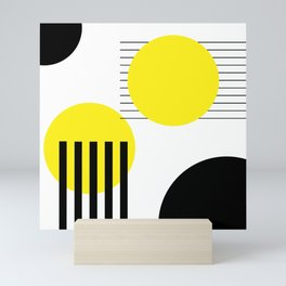 Abstract design Mini Art Print
