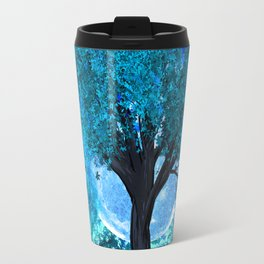 TREE MOON NEBULA DREAM Travel Mug