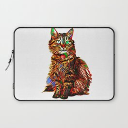 McKenna in the Abstract Laptop Sleeve