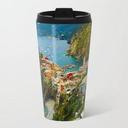 Vernazza Italy - Italian Riviera Travel Mug