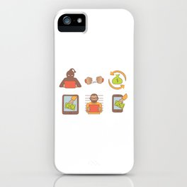 Cyber Monday Hackers iPhone Case