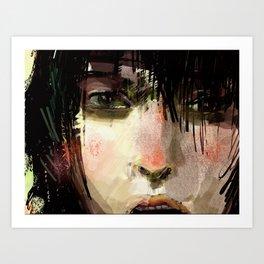 Poster Girl Art Print