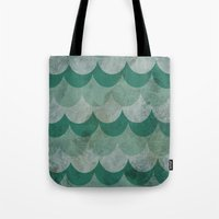 scales Tote Bags featuring Scales by Jarrah James