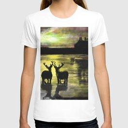Sundown on Scottish Loch T-shirt