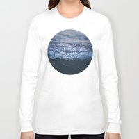 waves Long Sleeve T-shirts featuring Waves by Leah Flores