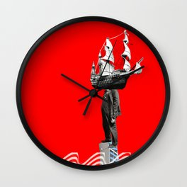 Look to your orb Wall Clock
