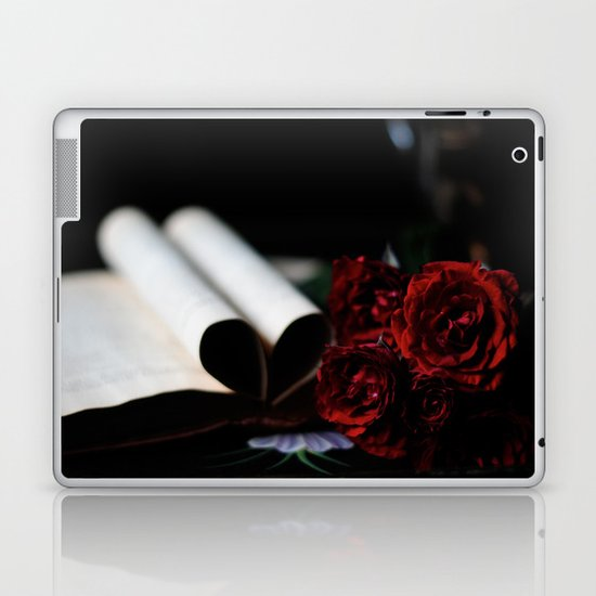 my love is like a red, red rose Laptop & iPad Skin