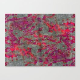 pink and purple pattern Canvas Print
