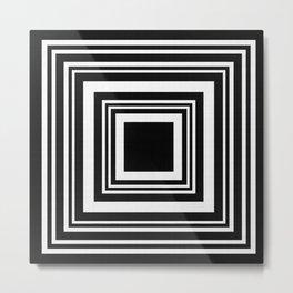 Square Expanding Metal Print