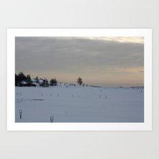 Winter I Art Print