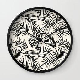 Pam Leaves Wall Clock