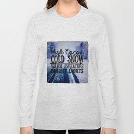 Winter love Long Sleeve T-shirt