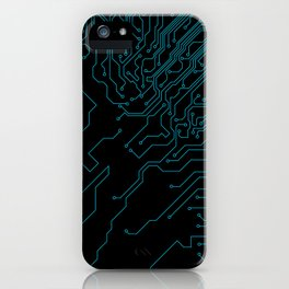 Circuit. iPhone Case