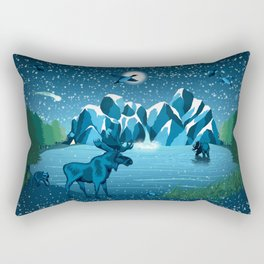 Fireflies Like Stars Rectangular Pillow