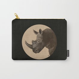Round Rhino Carry-All Pouch