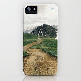Colorado Mountain Road iPhone Case