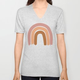 Simple Rainbow Unisex V-Neck