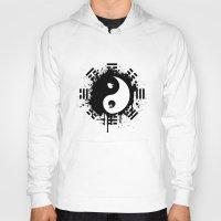 yin yang Hoodies featuring Yin Yang by Emir Simsek