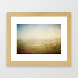 Where We Were Framed Art Print