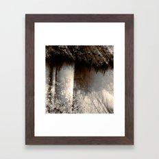 Reign In The Woods Framed Art Print