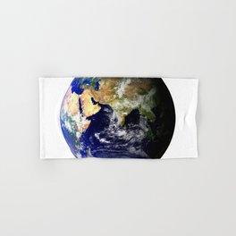 Earth Globe Hand & Bath Towel