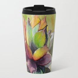 Rainbow Succulent Travel Mug