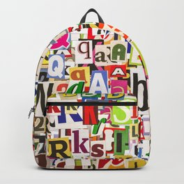 Ransom Note Backpack